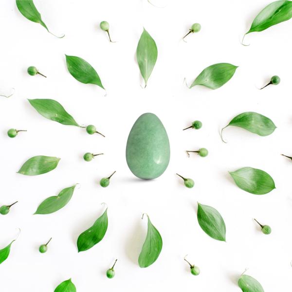 Yoni vajíčka - sada 3 ks / avanturín