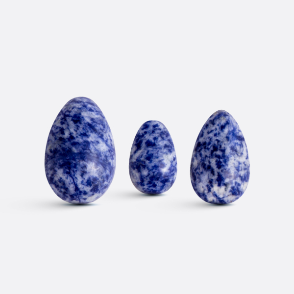 Yoni vajíčka - sada 3 ks / sodalit